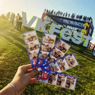 Фотобудка на VK Fest