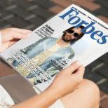 Фото на обложке журнала