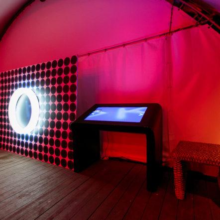 Фотосъёмка и сенсорный стол на вечеринке