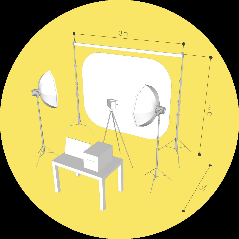 Хромакей-фотостудия с печатью фото