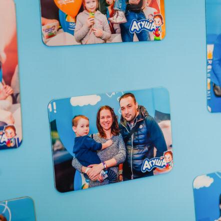 Печать магнитов на выставке «Планета детства»
