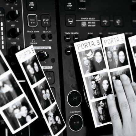 Фотобудка на закрытой вечеринке перед открытием Porta 9