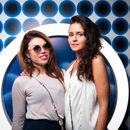 Медиастол на промо-акции на вечеринке