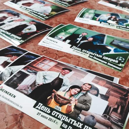 Печать фотографий на Дне открытых дверей пивоваренного завода