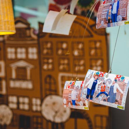 Печать фотографий на мероприятии в IKEA