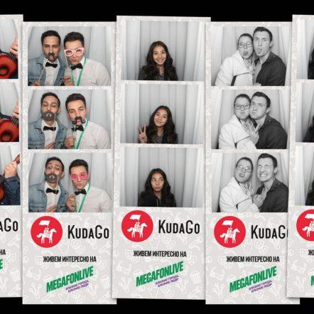 Фотобудка на MegafonLive для KudaGo