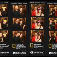 Фотобудка для National Geographic Россия